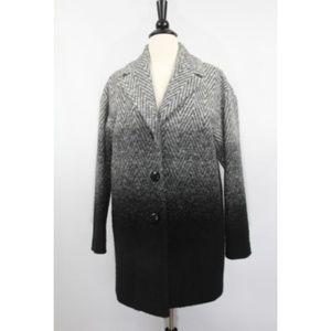 Talbots Wool Coat Womens Jacket Ombre